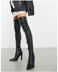 ASOS Over-the-knee boots for Women - Up to 65% off at Lyst.com
