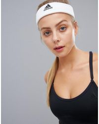 adidas Tennis Headband In White