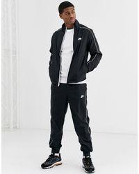 Nike Woven Tracksuit Set - Black
