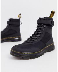 Dr. Martens Черные Ботинки Combs - Черный