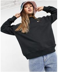 Dickies – Oakport – Hochgeschlossenes Sweatshirt - Schwarz