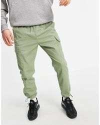 Another Influence Cargo Trousers - Green
