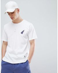Pretty Green - X Katie Eary Papilio Logo T-shirt In White - Lyst