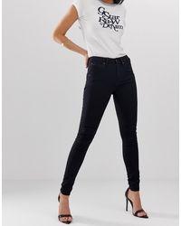 G-Star RAW – 5622 – Enge Jeans mit hoher Taille - Blau