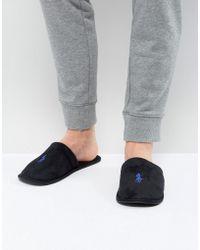 Ralph Lauren Summitt Slippers - Black
