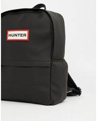 HUNTER - Original Rubberised Backpack In Black - Lyst