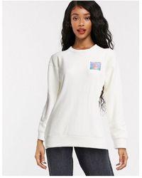 Billabong Surf Vibe Back Placement Sweatshirt - Multicolour