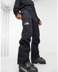 The North Face Slashback Cargo Ski Pant - Black