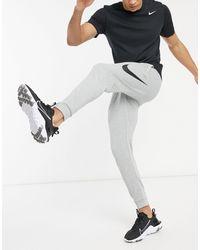 Nike - Серые Джоггеры С Логотипом-галочкой Swoosh-серый - Lyst