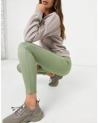 Vero Moda Ribbed legging - Green