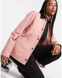 Vans Розовая Куртка Drill Chore-розовый