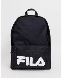 Fila Черный Средний Рюкзак - Многоцветный