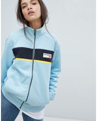New Balance - Track Jacket In Blue - Lyst