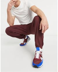 ASOS Co-ord Tapered Rib joggers With Fixed Hem