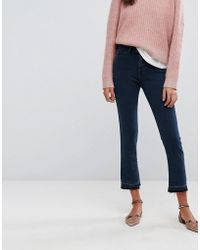 Esprit - Kick Flare With Back Button Detail - Lyst