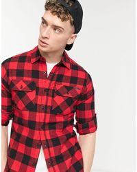 Criminal Damage Jack Shirt - Red