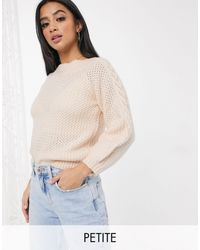 Miss Selfridge Cable Knit Sweater - Multicolor