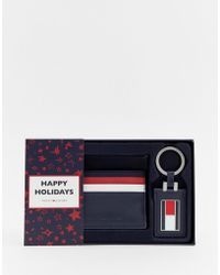 Tommy Hilfiger - Corporate Card Holder Keyfob Gift Set - Lyst