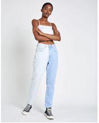 The Ragged Priest Mom jeans - Blu