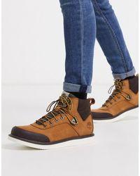 Timberland - Коричневые Ботинки Чукка -коричневый - Lyst
