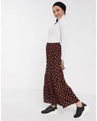 ASOS Tiered Maxi Skirt