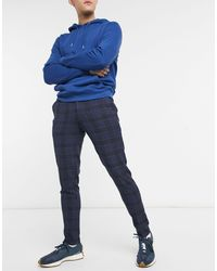 ASOS Super Skinny Suit Pants - Blue