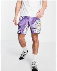 Vans New Age Tie Dye Shorts - Purple