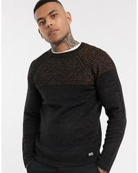 Only & Sons Knitted Jumper - Black