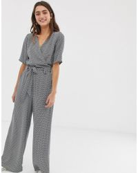 ONLY - Mini Geo Jumpsuit - Lyst