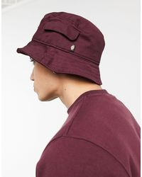 Dickies Bogalusa - Bucket Hat - Rood