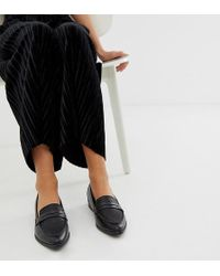 6894780eccb Lyst - ALDO Ldo Mairi Fringe Leather Loafers in Black