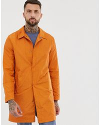 ASOS Легкий Тренч Выгоревшего Оранжевого Цвета - Оранжевый