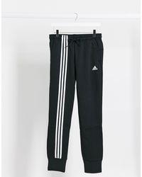 adidas Originals Черные Джоггеры С 3 Полосками Adidas Training-черный