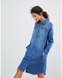 Lee Jeans Western Denim Dress - Blue