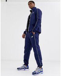 Nike Survêtement tissé - Bleu marine