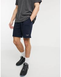 Abercrombie & Fitch Pantalones cortos azul marino