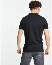 Calvin Klein Футболка-поло С Тисненым Логотипом -черный Цвет