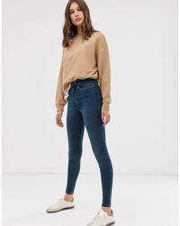 ONLY High Waist Skinny Jean - Blue