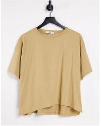 Mango Organic Cotton Oversized T-shirt - Yellow