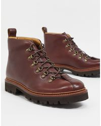 Grenson Светло-коричневые Походные Ботинки Bobby-светло-коричневый
