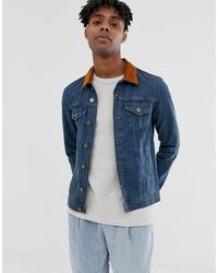 Brooklyn Supply Co. - Denim Jacket With Collar - Lyst