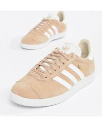the best attitude 6a898 73820 Gazelle Trainers In Blush - Pink