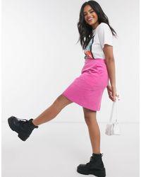 Glamorous Cord Mini Skirt - Pink