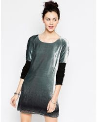Antipodium Chaucer Dress - Metallic