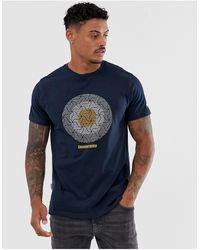 Lambretta Target - T-shirt - Bleu