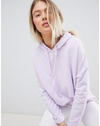 Pull&Bear - Hoodie In Lilac - Lyst