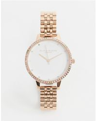 Olivia Burton Часы Ob16rb21-золотой - Металлик
