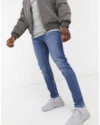 Levi's – Youth 502 Hi Ball – Schmal zulaufende Jeans - Blau