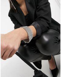 True Decadence – Kristallenes Armband - Mettallic