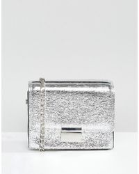 Pull&Bear Cross Body Metallic Bag